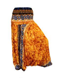 Women's Colorful Thai Harem Pants