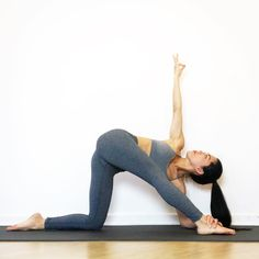 Parivritta Parighasana - Revolved Gate Pose