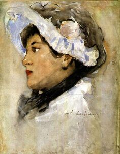 Portrait of a Woman - Stefan Luchian 1901 Art Deco Dress, Art Database, Impressionist Paintings, Henri Matisse, Art Deco Fashion, Female Art, Modern Art, Art Gallery, Art Prints