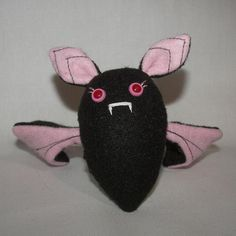 Bat Plushie Pattern PDF by SewUCanPatterns on Etsy, $4.00