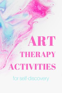 Art therapy activities are an excellent way to deepen the knowledge about yourself. Through fun activity discover what moves you and what keeps you stuck. Stress And Mental Health, Mental Health Therapy, Stress And Anxiety, Art Therapy Projects, Art Therapy Activities, Therapy Ideas, Sleep Therapy, Music Therapy, Art Therapy Directives