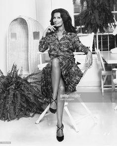 Italian actress Sophia Loren poses for a portrait circa 1978 in Los Angeles, California.