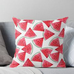 Bright Pillows Creative 3d Cartoon Fruit Watermelon Neck Pillow Gift For Kids Room Cute Ribbon Decorative Soft Travel Pillow Garden Pots & Planters
