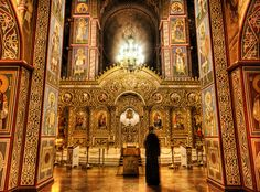 Beautiful Orthodox Cathedral