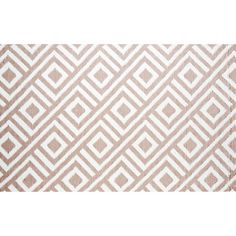 @Overstock.com - The Malibu indoor/outdoor mat highlights a contemporary geometric pattern design. This reversible, carefree and weather proof mat is made with highest grade of recycled PP and tightly woven tubular yarn which promotes durability. To put under new dining table.