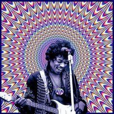 psychadelic Jimmie Hendrix http://www.erikspukke.wordpress.com