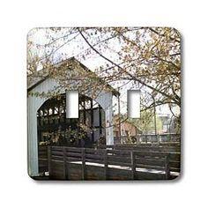 Jackson County Bridge and Tree - Light Switch Covers
