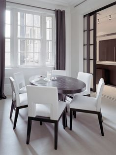 b82aa1deed2 Fifth Avenue Apartment NYC. Modern Dining TableDining AreaDining TablesBest  InteriorKitchen InteriorBeautiful ...
