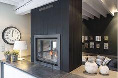 Black interior, I love it #holidayhomes #Ardennes