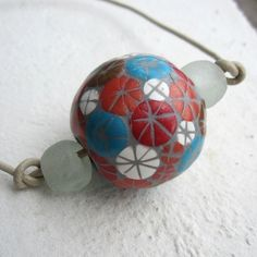 retro mosaic hollow bead by Saffron Addict, via Flickr
