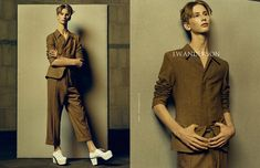 J.W. Anderson Showcases Androgynous Fashions with Fall/Winter 2014 Campaign image JW Anderson Fall Winter 2014 Campaign 001
