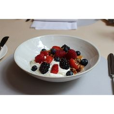 Make tomorrow a good morning: try our homemade granola and Greek yoghurt topped with fresh berries at @Berners_Tavern.