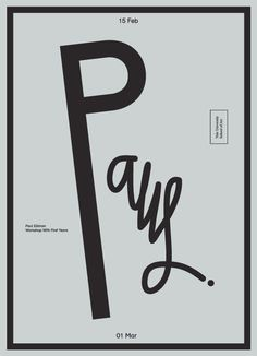 Eric Hu Paul Elliman at Yale School of Art #graphicdesign #design #typography #monochrome