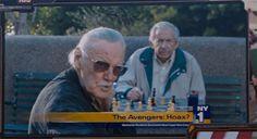 Stan Lee tambem tem fama de aparecer por alguns segundos em filmes e séries da Marvel como Vingadores e Deadpool.Lee também já apareceu em séries e filmes de outras empresas como Muppets e Simpsons.