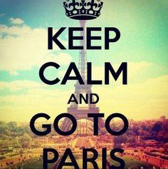 I'm in Paris rite now!