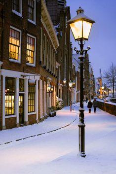 Rotterdam in snow, Netherlands Travel Around Europe, Old City, Rotterdam, Netherlands, Van, Snow, Explore, The Nederlands, The Netherlands