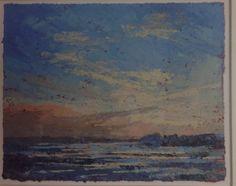 Michael Fairclough, Chichester Harbour, Medium, Oil on Paper, size Modern Art, Contemporary, Chichester, Paper Size, Oil, Medium, Painting, Painting Art