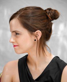 Emma Watson love her hair color