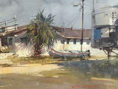 Vladislav Yeliseyev, Simple life...From Forgotten Coast paintout
