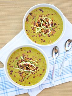 Courgette Curry Soup — Including Cake