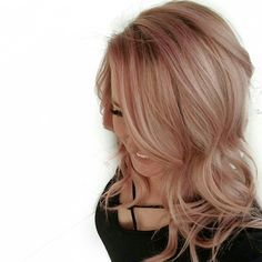 Rose + Gold beautifully done by Seasons Salon and Day Spa