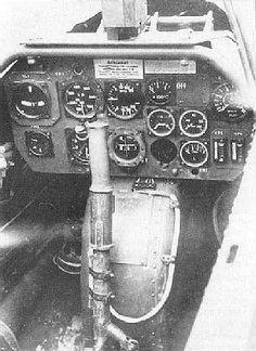 Heinkel He 162 Salamander, cockpit