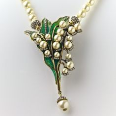 """I love this """"Lily of the Valley"""" Necklace by Heidi Daus!"""