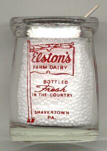 Elston's Dairy Mini Creamer Shavertown PA | eBay