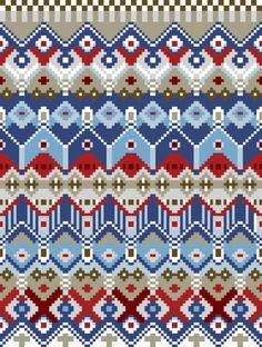pixel quilt, by frameless