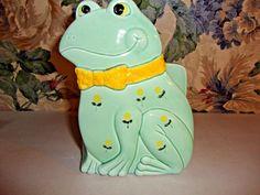 "Otagiri Ceramic Frog Napkin Holder 6.5"" x 4.5"""