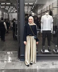New Fashion Inspo Casual Style Ideas Modest Fashion, Trendy Fashion, Girl Fashion, Fashion Outfits, Style Fashion, Womens Fashion, Casual Hijab Outfit, Ootd Hijab, Moslem Fashion