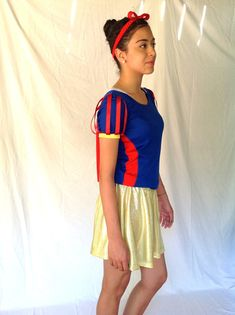 SNOW inspired running outfit by iGlowRunning on Etsy, $99.00