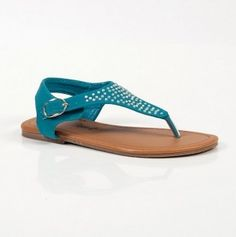 sandal <3 Shoes Heels Boots, Heeled Boots, Shoes Sandals, Flats, Aqua, Teal, Turquoise, Walk This Way, Pretty Shoes