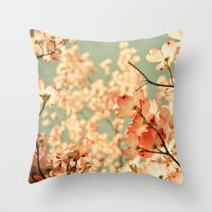 Flower throw pillow. I really do love the realistic photography pillow cases, big fan.