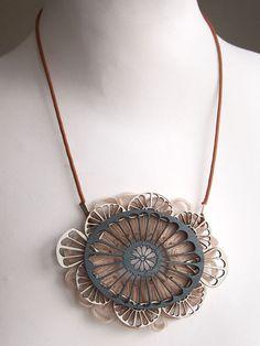 Unique and beautiful pendant...  http://kingdomofstyle.typepad.co.uk/my_weblog/2012/10/garden-of-delights.html