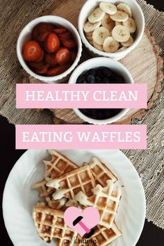 Health, clean waffles you can eat - guilt-free!!!