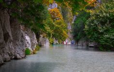 you have to see it to believe it Places In Greece, Macedonia, See It, Tourism, Beautiful Places, Scenery, Around The Worlds, In This Moment, River