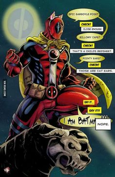 #Deadpool #Fan #Art. (Na na na na na Deadpool) By: 9gag.