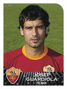 Pep Guardiola, 2002-2003 Panini sticker album.