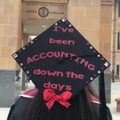 Accounting graduation cap | SUU 2016
