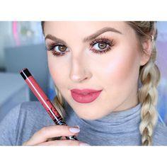 Kat Von D 'Double Dare'  https://youtu.be/tgEql9tTj_U  Kat Von D lip swatch videos are up on my channel  #shaaanxo #katvondbeauty