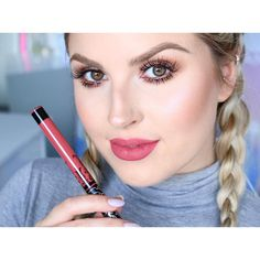 Kat Von D 'Double Dare'  https://youtu.be/tgEql9tTj_U  Kat Von D lip swatch videos are up on my channel  #shaaanxo #katvondbeauty