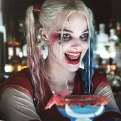 Margot Robbie as Harley Quinn in suicide squad #MargotRobbie #HarleyQueen #SuicideSquad #EscuadronSuicida