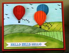 lovely as a balloon by gabby89 - Cards and Paper Crafts at Splitcoaststampers