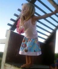 Tea party, birthday party or luau? Twirly skirts <3