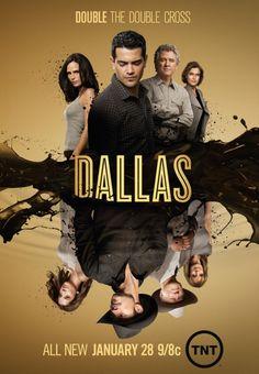 Dallas, new season. Poster 2/2