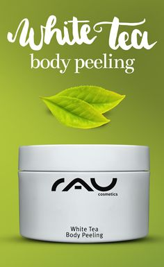 Das mechanische Körperpeeling auf Zuckerbasis von RAU Cosmetics enthält weißen Tee (Anti-Aging) und kostbare, pflegende Pflanzenöle wie Mandelöl, Distelöl, Sojaöl, Macadamia- und Avocadoöl! http://www.rau-cosmetics.de/detail/index/sArticle/20?sPartner=social Für eine seidenweiche, glatte Haut #skincare #peeling #body #beauty