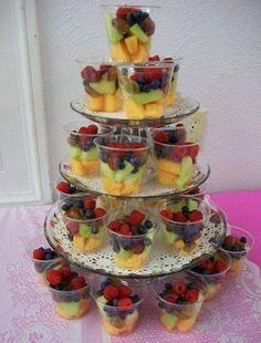 New wedding food buffet appetizers fruit displays Ideas Fruit Buffet, Fruit Dishes, Fruit Trays, Fruit Cups, Fruit Food, Fruit Art, Food Buffet, Fruit Salads, Veggie Food