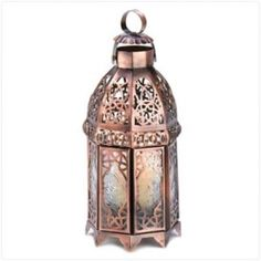 Lot Of 10 Copper Lanterns Free Shipping!!! Wholesale Copper Bronze Moroccan Lanterns Wholesale