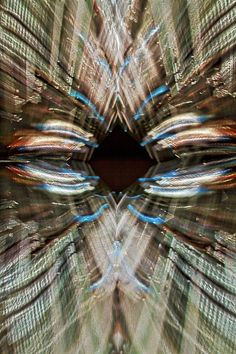 Photograph by Stuart Litoff.  #Abstract photo of the #screen of the #CityCenterGateway in #Washington #DC